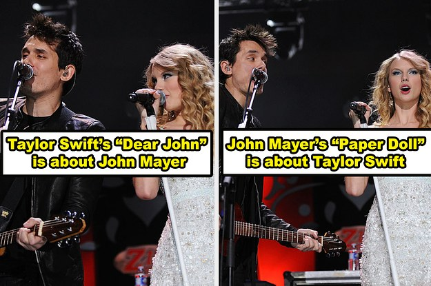 18 Famous Songs That Are Actually About Other Celebrities