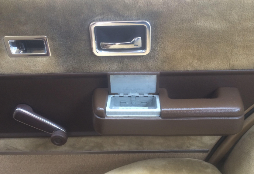 ashtray in a car