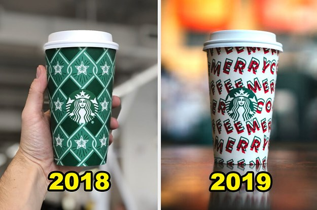 Starbucks 2019 Holiday Cup Designs