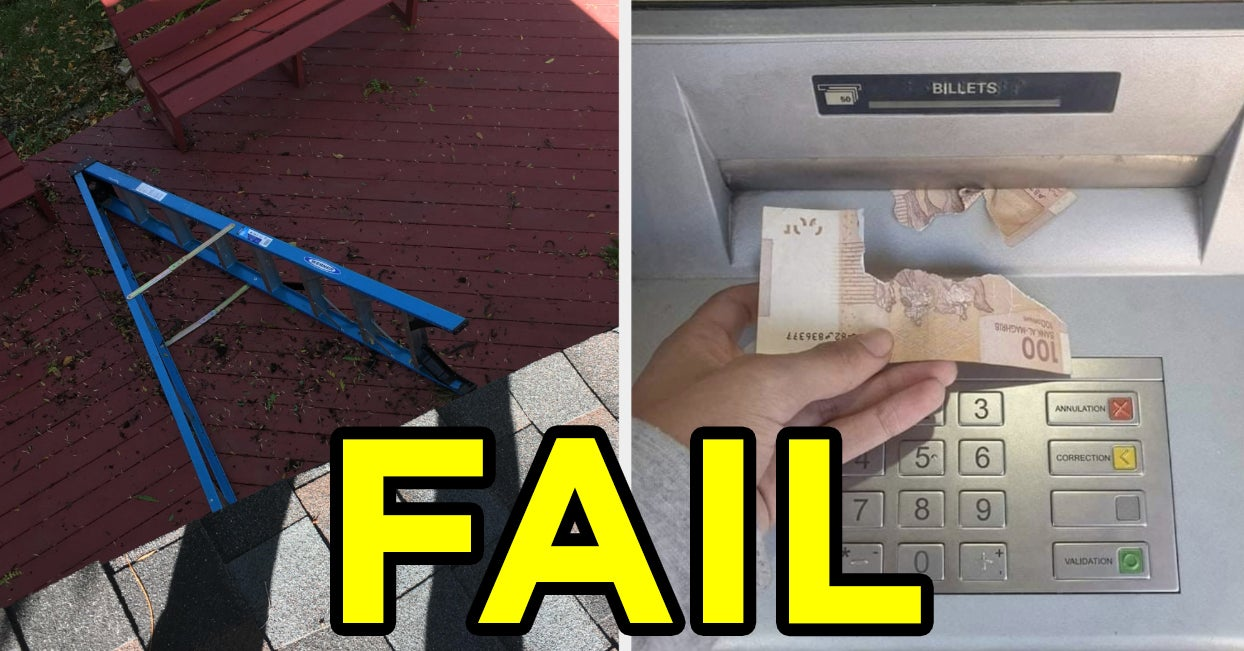 18 Funny Fails That, Thank God, Didn't Happen To You
