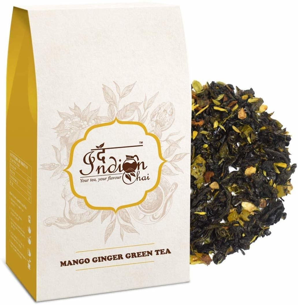 Mango ginger green tea