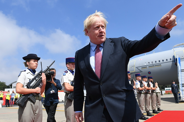 Boris Johnson Mocked A Chinese Flight Attendant's Accent