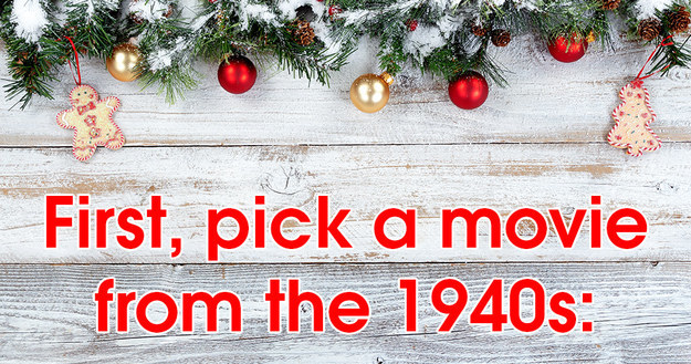 Pick A Christmas Movie From Each Decade And We'll Reveal Which Christmas Song You Are