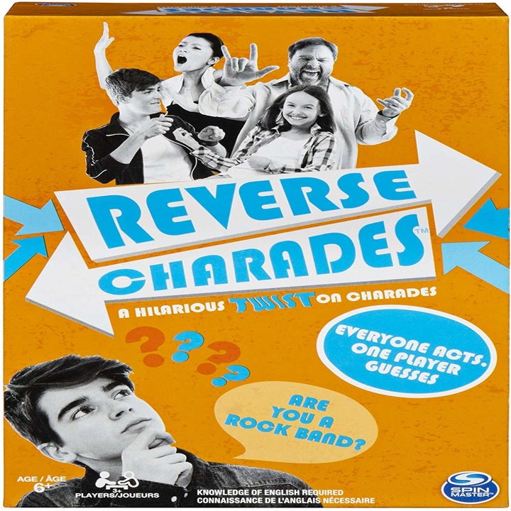 the reverse charades board game