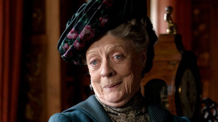 """Maggie Smith in """"Downton Abbey"""""""