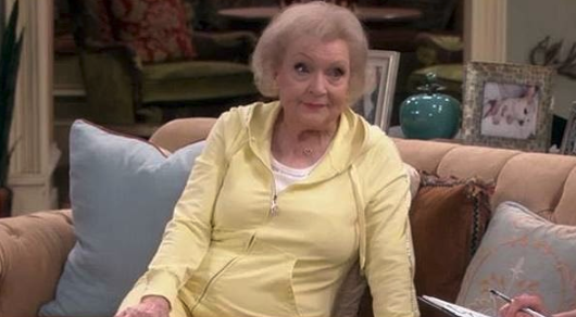 """Betty White in """"Hot in Cleveland"""""""