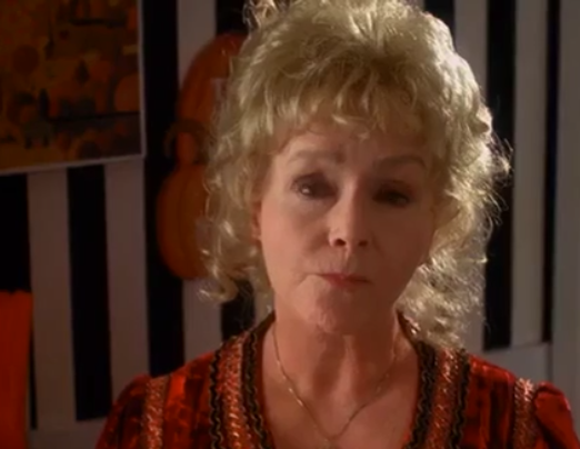"Debbie Reynolds in ""Halloweentown"""