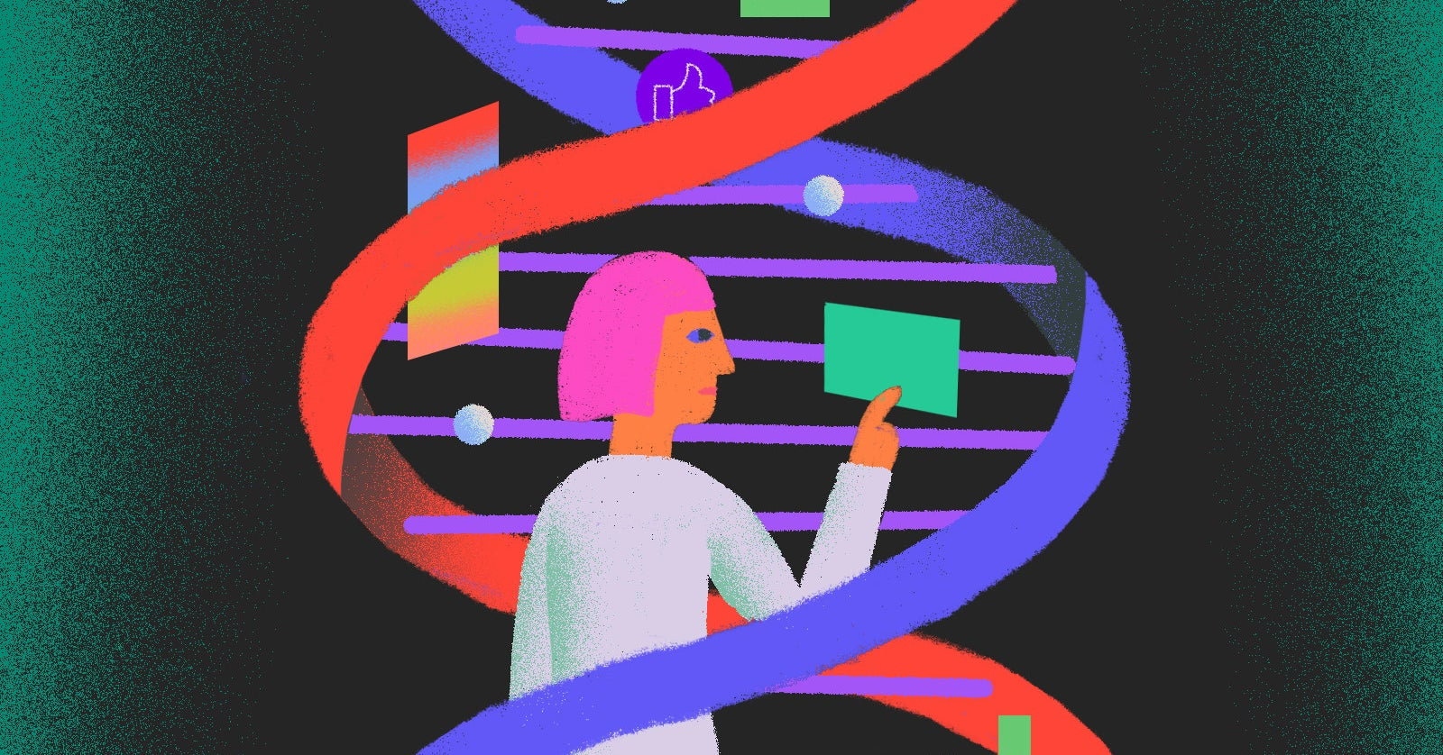 We're Living In The DNA Future, But It's Not The One We Were Promised