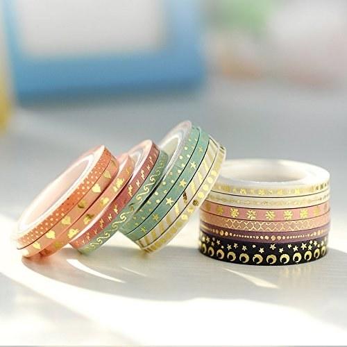 stacks of pastel patterned tape