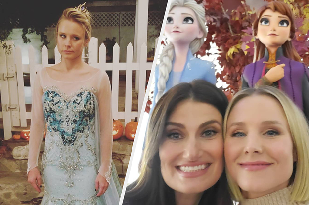 """Kristen Bell's Kids Are The Only Ones Not Obsessed With Her In """"Frozen 2"""", And It's Adorably Funny"""