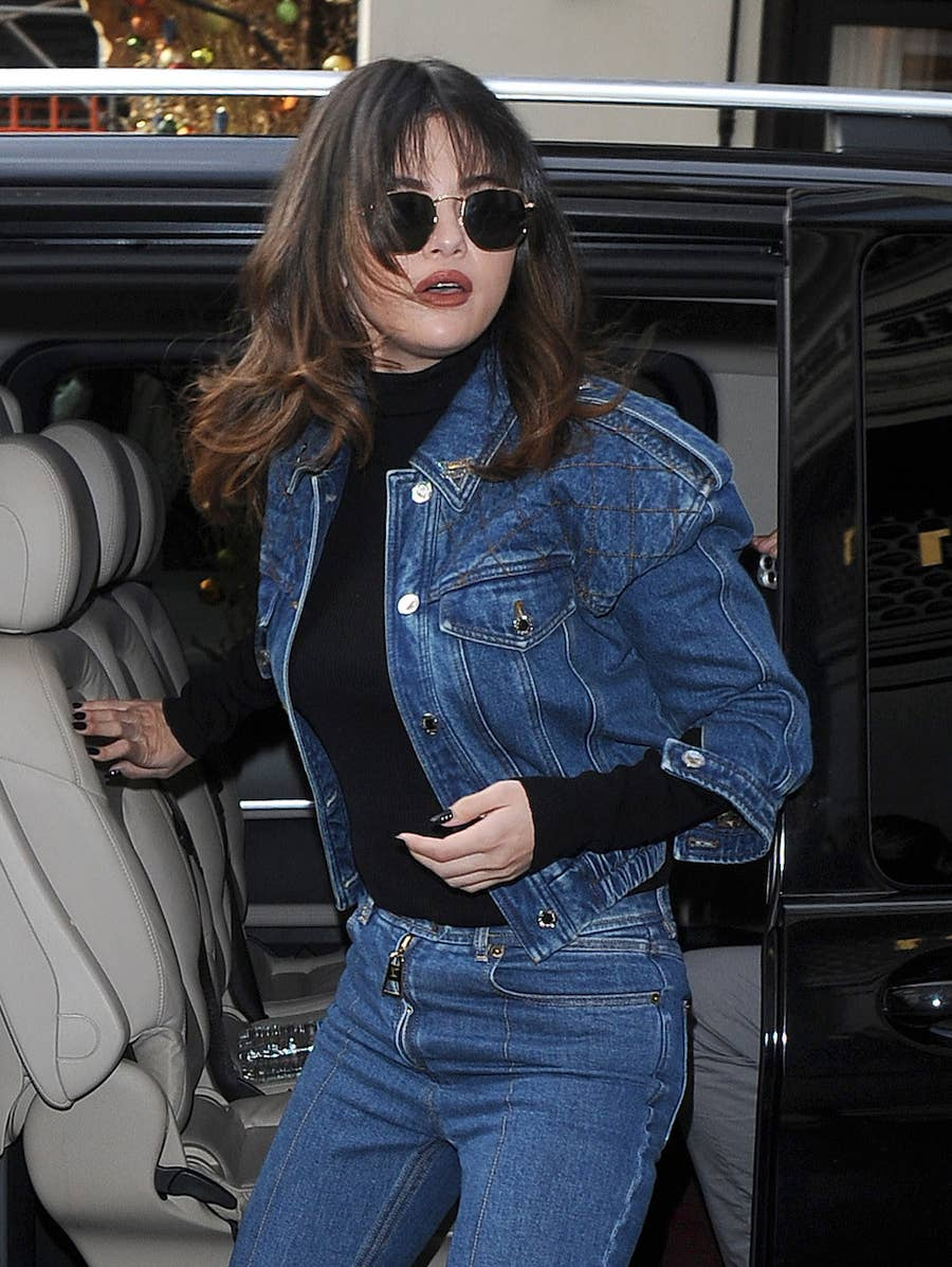 Selena Gomez Steps Out In A New Shag Haircut For 2020