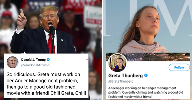 Greta Thunberg Changes Bio After Trump Mocks Time Person Of The ...