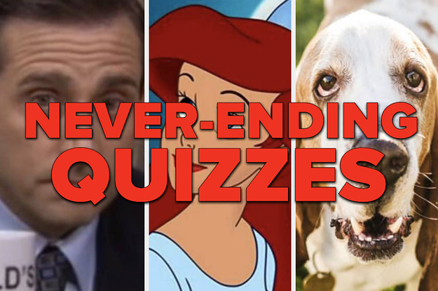 19 Never-Ending Quizzes For Anyone With Way Too Much Time On Their Hands