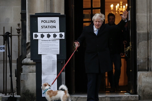 The Exit Poll Suggests Boris Johnson Is On Course For A Huge Majority