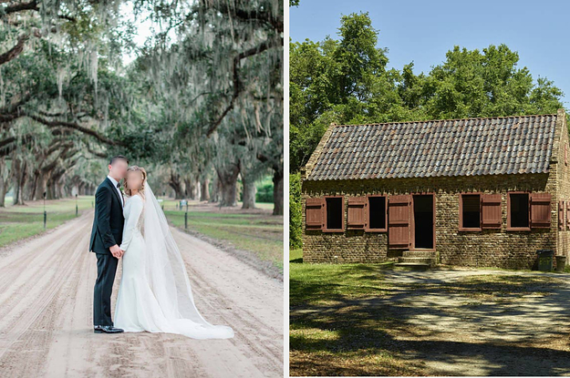 Brides And Grooms Who Got Married At A Former Slave Plantation Are Speaking Out About Criticism Of The Venues