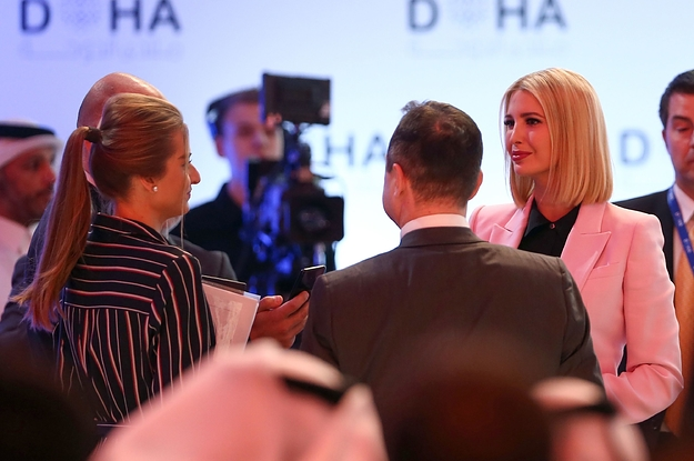 Ivanka Trump Answered Questions From Her Own Spokesperson In An Interview In The Middle East
