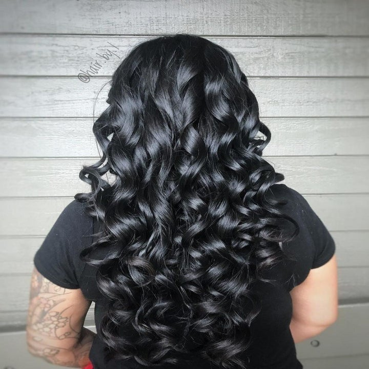 A reviewer's hair curled