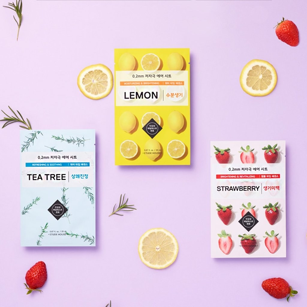 various sheet masks