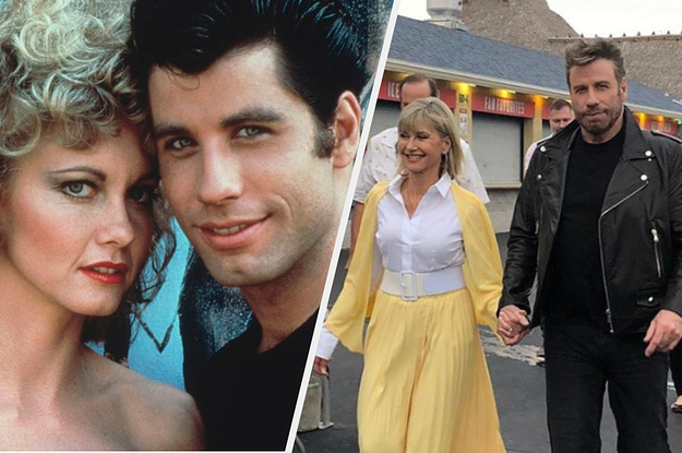 John Travolta And Olivia Newton-John Dressed As Danny And Sandy For The First Time In 40 Years, And I've Got Chills...They're Multiplying