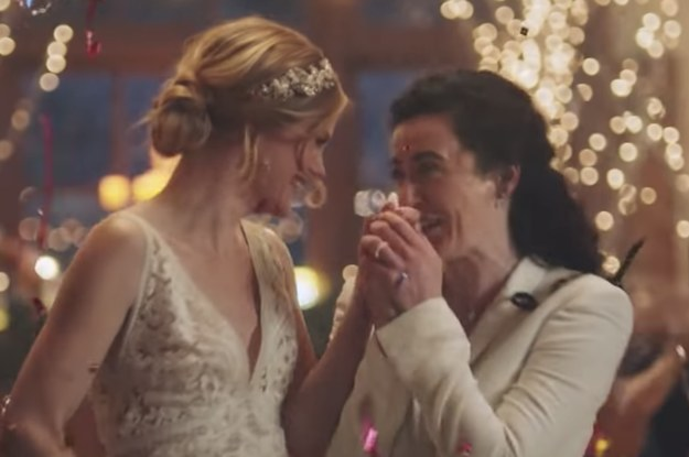 """Hallmark Said It Is """"Truly Sorry"""" For Pulling A Wedding Ad Featuring Two Brides Because It Was Too Controversial"""