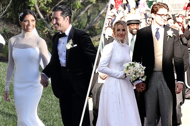 The Most Beautiful Celebrity Weddings Of 2019
