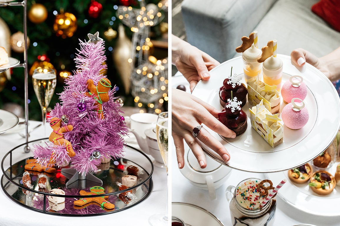 Christmas Has Come Early Because Anna Polyviou Has Gone And Done A Festive High Tea