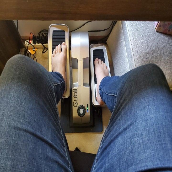 feet use elliptical