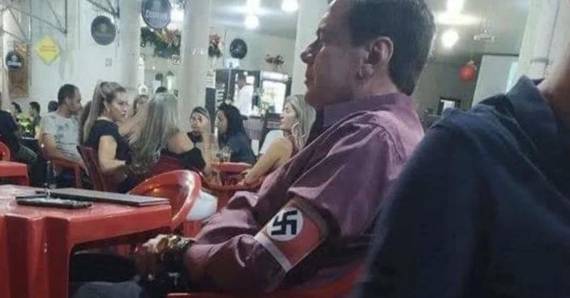 """PM de Minas diz que não prendeu homem com símbolo nazista por """"insegurança jurídica"""""""