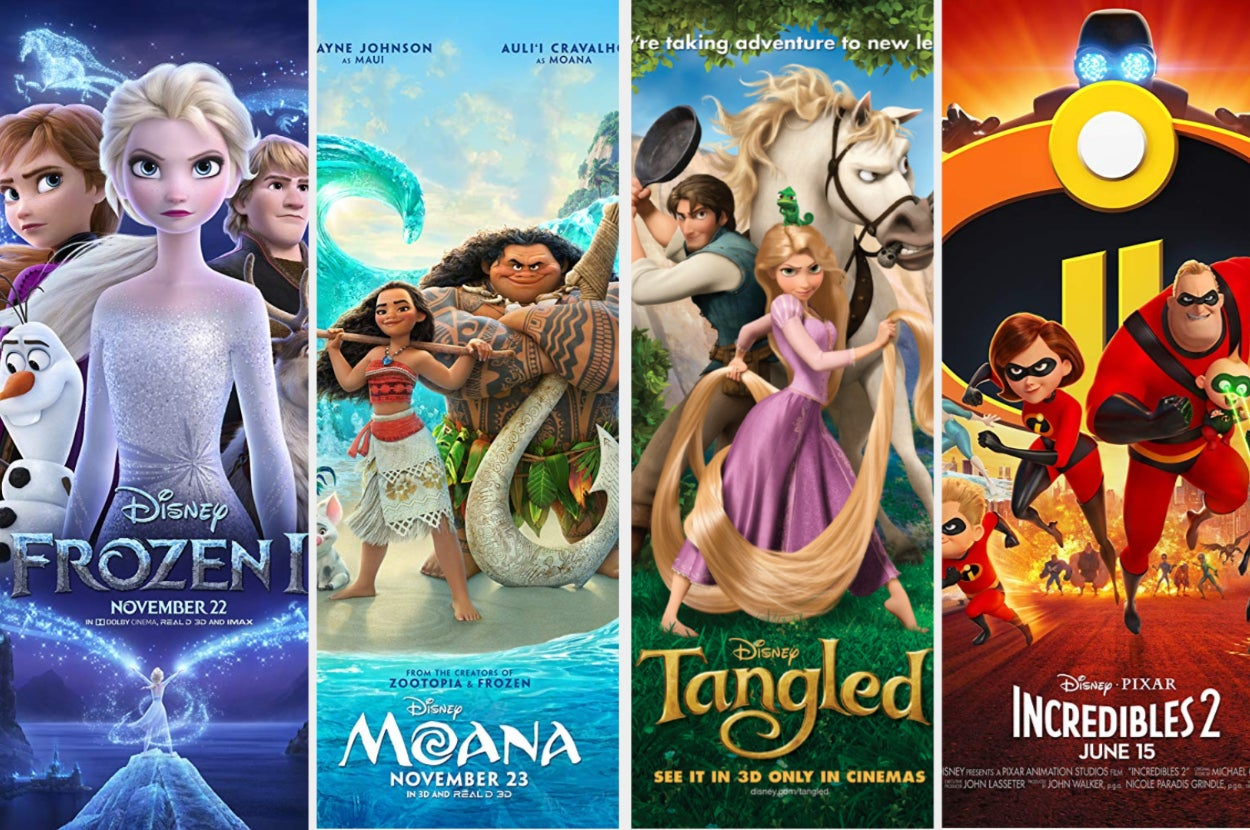 How Many Of These Animated Disney Movies Have You Seen In The Last Decade?