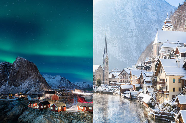 18 Real-Life Places That Are Straight-Up Winter Wonderlands