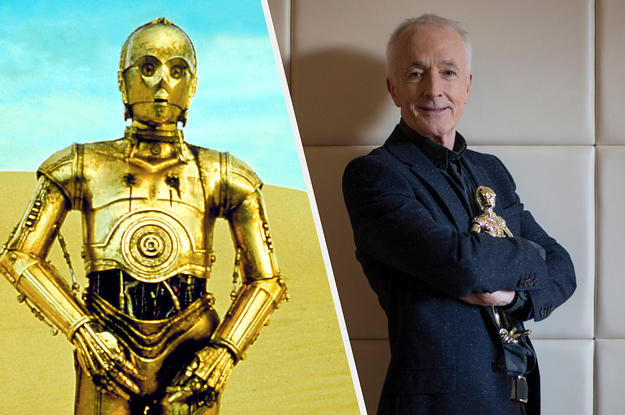 """""""Star Wars"""" Legend Anthony Daniels Reflects On Four Decades Of Playing C-3PO And Saying Goodbye To Him"""