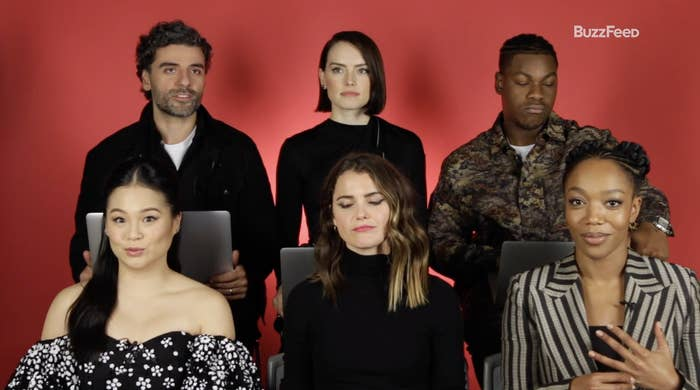 The Cast Of Star Wars The Rise Of Skywalker Found Out Which Side Of The Force They Re On