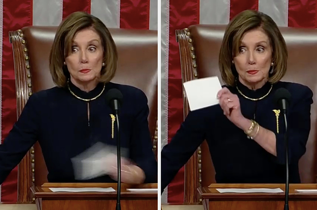 Nancy Pelosi Scolded Democrats Who Started Applauding The Trump Impeachment Result
