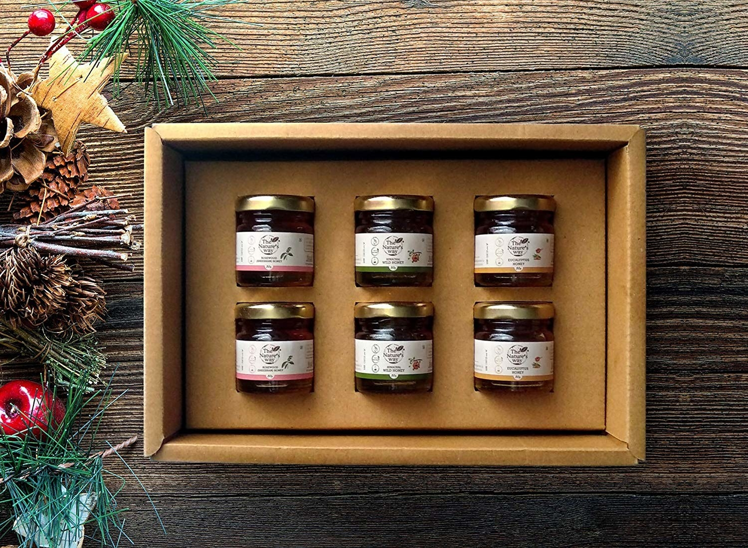 A flavoured honey gift set
