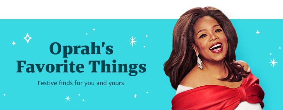 The banner from Oprah's Favorite things