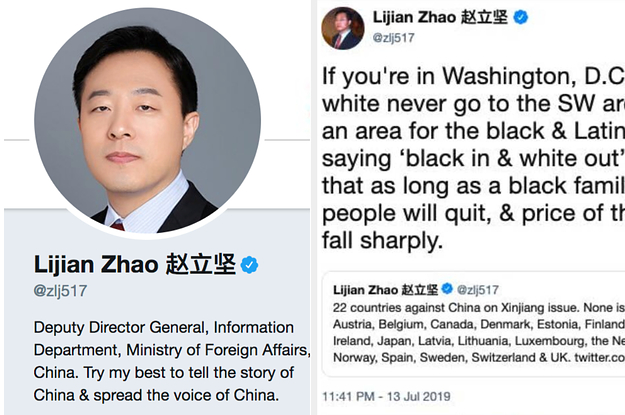 Meet The Chinese Diplomat Who Got Promoted For Trolling The US On Twitter