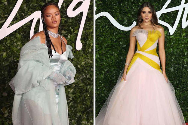 Here's What All The Celebrities Wore To The 2019 British Fashion Awards