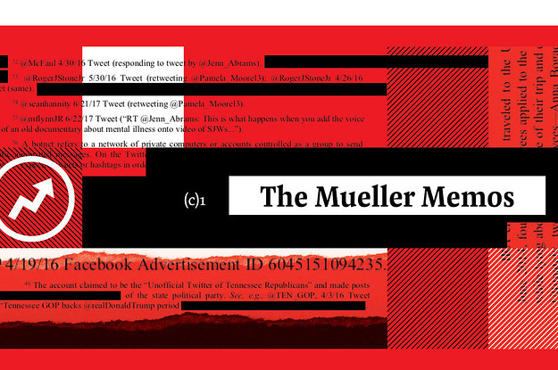Here Are The Latest Secret Memos From Mueller's Report