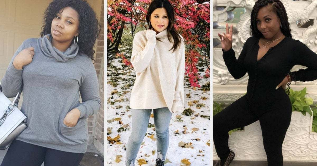41 Pieces Of Clothing That'll Help Make 2020 The Comfiest Year Ever thumbnail