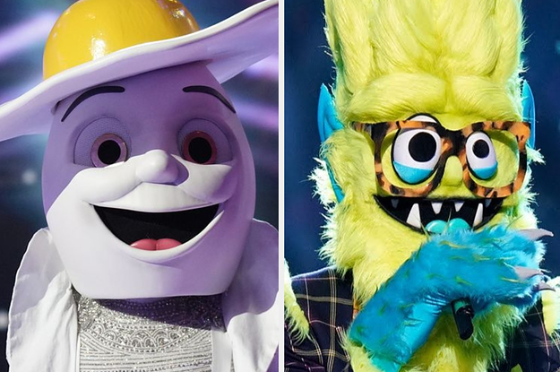 """16 Famous People That Were Unmasked On Season 2 Of """"The Masked Singer"""""""