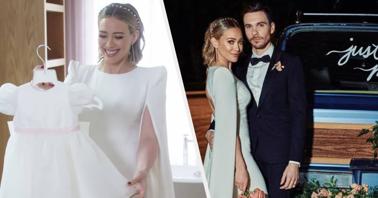 Here Are The First Photos From Hilary Duff S Wedding To Matthew Koma