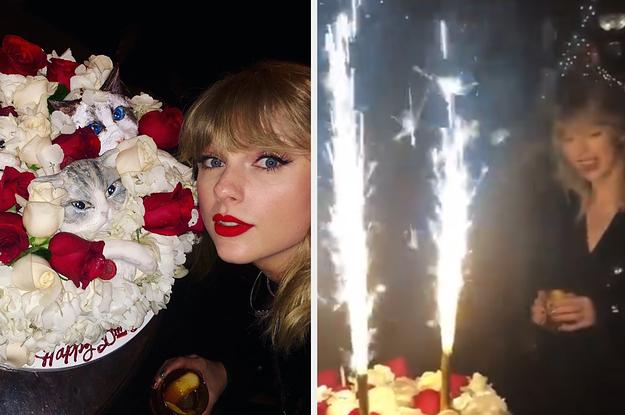 Peachy Taylor Swift Threw The Most Taylor Swifticizationized 30Th Funny Birthday Cards Online Inifodamsfinfo