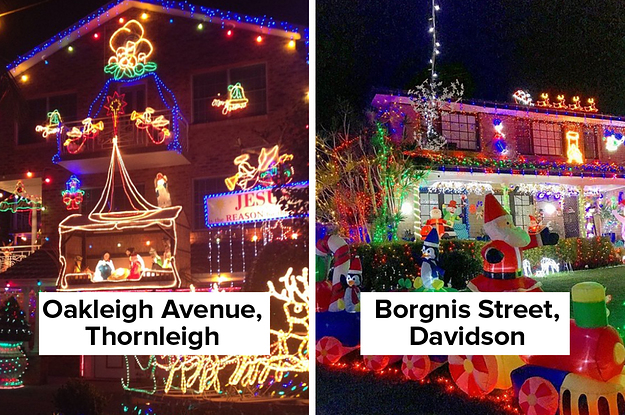 16 Of The Best Places To Bask In The Glory Of Christmas Lights In Sydney
