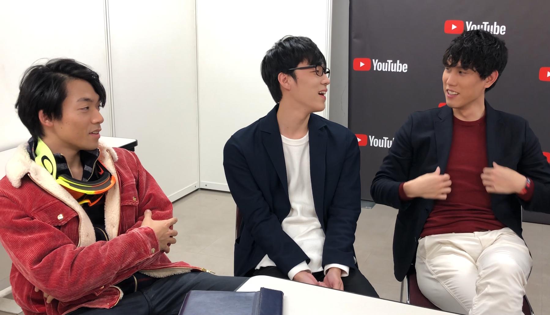 左起伊澤拓司先生、福良拳先生、網站寫手須貝駿貴先生