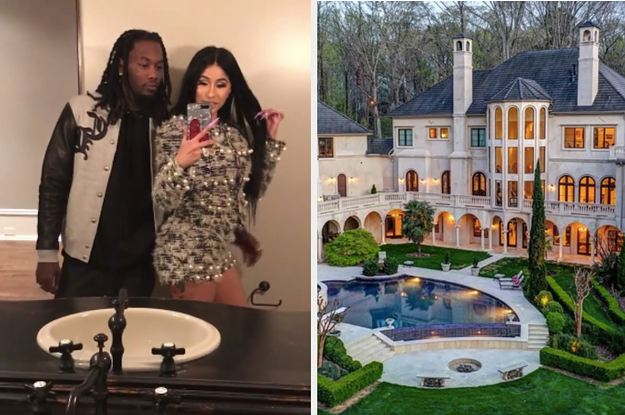 Here's What Cardi B And Offset's New Mansion Is Like