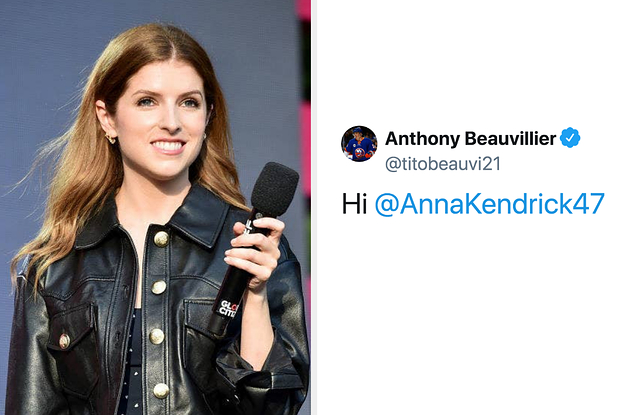 A Hockey Player Tried To Shoot His Shot At Anna Kendrick And The Twitter Replies Are Hilarious