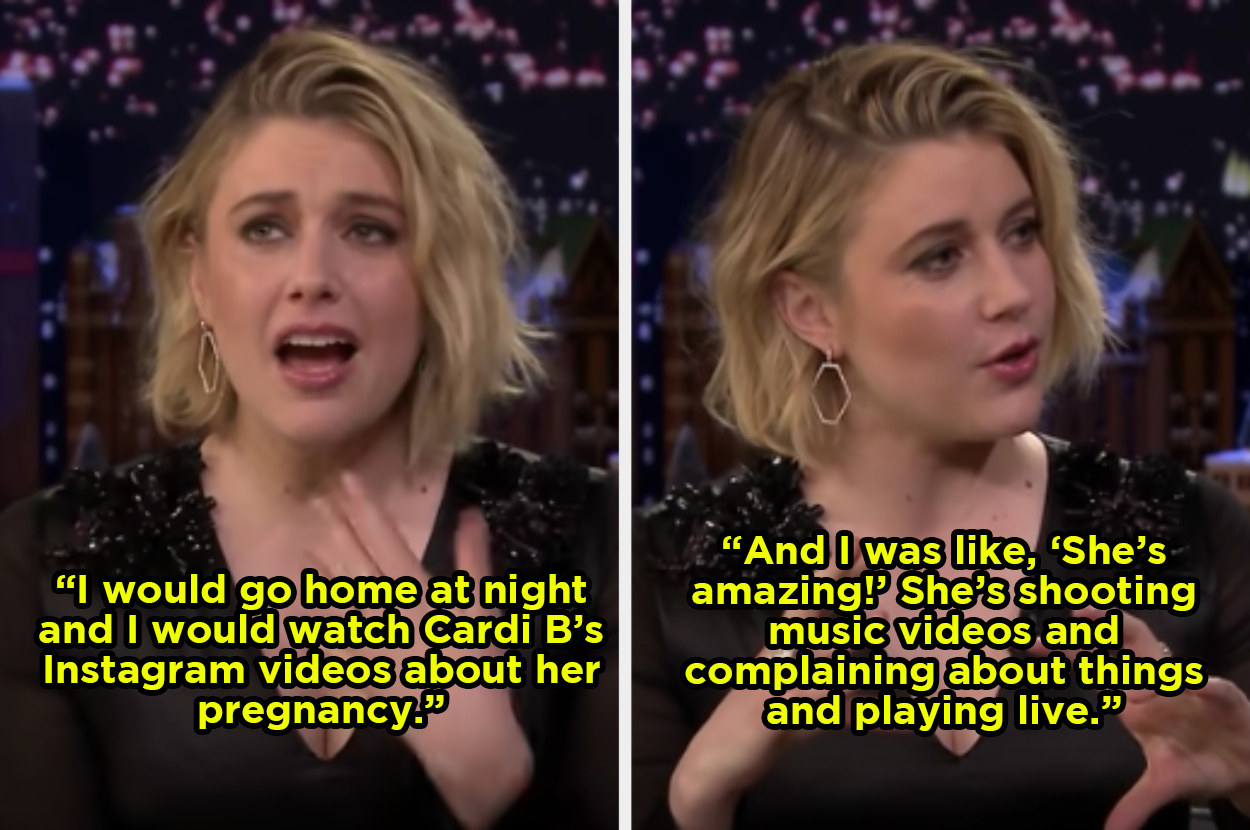 Cardi B Greatly Influenced Great Gerwig During Her Pregnancy