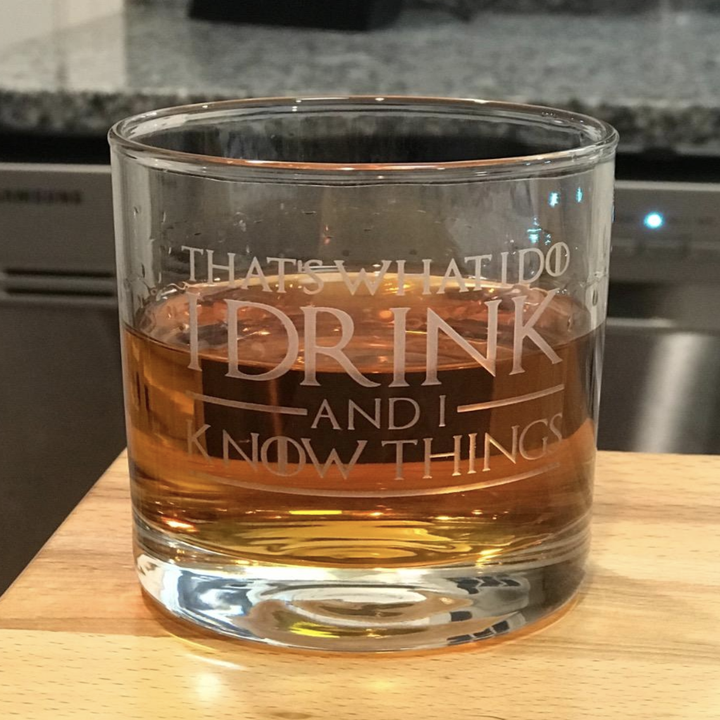 reviewer photo of the glass with drink inside