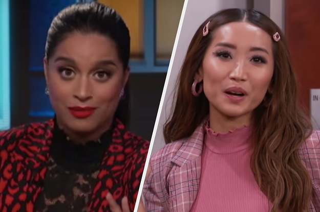 """There Was A Mini Disney Channel Reunion On """"A Little Late With Lilly Singh,"""" And The Nostalgia Is Killing Me"""