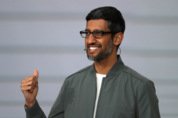 Google's Cofounders Are Stepping Down. Sundar Pichai Will Become The CEO Of Google And Alphabet.